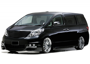 China Airport Transfer Alphard