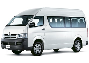 China Airport Transfer Hiace